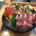 だんじり - 炙り金目鯛造り