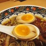 寿限無 担々麺 - 味玉感