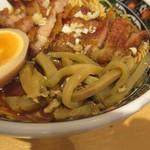 寿限無 担々麺 - 搾菜と排骨