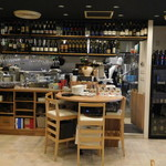 グランドゥーカ - 厨房方向