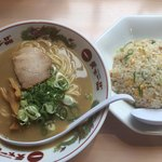 天下一品 - チャーハン定食(こってり)980円