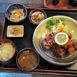 みつい食堂 - 料理写真:みついのとりからあげ定食