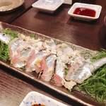 一心 - 秋刀魚の刺身様