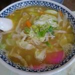 鹿内食堂 - 味噌ラーメン600円