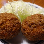 肉の旭屋 - 料理写真:黒毛和牛メンチ