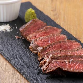 【新登場】和牛ランプ肉のステーキ