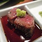 焼肉どんどん - ☆山葵醤油たっぷりで美味しゅうございます(^v^)☆