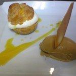 フランス食堂 フーヴェール - シュークリーム