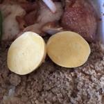 92690022 - キンカン(未成熟卵)、そぼろご飯接写