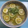 藤原製麺 - 料理写真:シークワーサーを切らしたので、JA全農おおいたの大分かぼすで代用して、トッピング