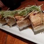 魚哲 - あなごの押し寿司(250円)