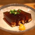 タキギヤ - 穴子の煮こごり