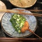 wafuukushiagezen - 白身魚の葱ソースかけ…1番好みでした