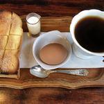 茶道 - 料理写真:ブレンドモーニング  450円