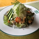 アルッガマゲ - セットのサラダ