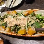 三枡三蔵 - 豚しゃぶサラダ