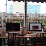 ハンズカフェ - PC コーナー