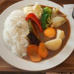 鯱市 - 野菜カレー