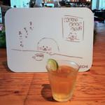 ハンズカフェ - ワタクシはグラスで〜♬