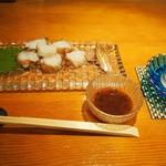 錦 - お造り(タコ)