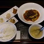 アカーム シノワ - 肉末茄子のランチ 1,000円