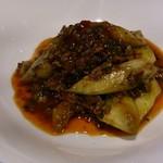 アカーム シノワ - 上品な肉末茄子