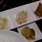 アカーム シノワ - 前菜と搾菜