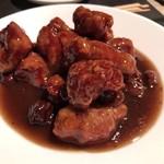 92699751 - 中国干し梅の酢豚