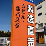 豊国製麺所 - 路面看板