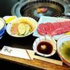 肉の山本 - 料理写真:ステーキ焼ランチ     ¥1000