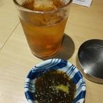 juubeiechigonojizakekakerujukuseibuta - もずく酢とウーハイ