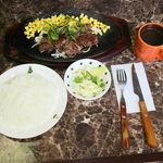 ステーキ食堂 - 料理写真:食堂ステーキ150g
