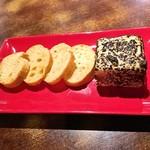 ガトークリームチーズとメルバトースト