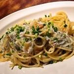 しらすのペペロンチーノ スパゲッティ