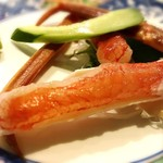 北海道料理蟹専門店 たらば屋 - カニの刺身