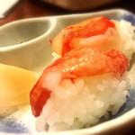 北海道料理蟹専門店 たらば屋 - カニの握り