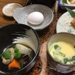 サンフラワーパークホテル - 茶碗蒸し、煮物