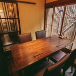 酒亭赤坂かねさく - 2階個室(2-4名様)