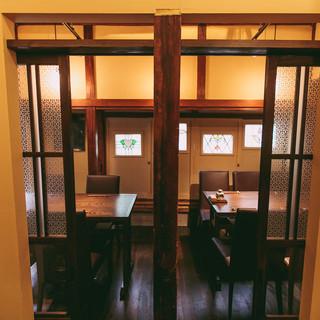 2階個室(つなげて7-10名様)