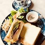 ぱんだかふぇ - 料理写真:ワンプレートサンドランチ