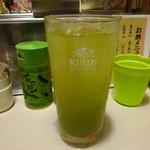 きよみづ - 緑茶割り