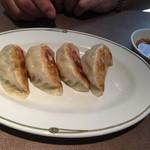 中国料理 美麗華 - ランチセットのニラ饅頭