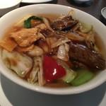 中国料理 美麗華 - 五目あんかけつゆそば