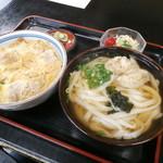 Daifukuudon - カツ丼セット