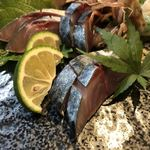 圭蔵 - 鯖の浅〆