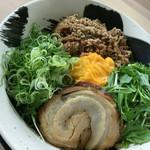 麺や暁 - お店FBページよりUP  カレー混ぜそば