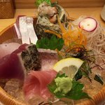 のどぐろ日本海 - 造り盛り合わせ