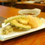 ふく屋 - 野菜天500円