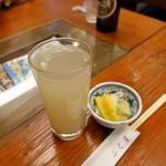 92714673 - 蕎麦湯割り500円