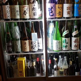 こだわりの麦酒、それに負けない日本酒!お好みの1杯をセレクト